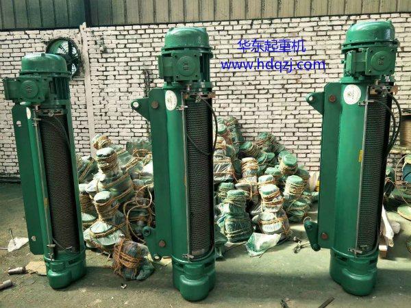 BCD型防爆钢丝绳电动葫芦厂家公司