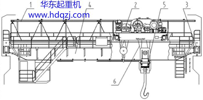QDY型冶金桥式qy8.vip千赢国际图纸