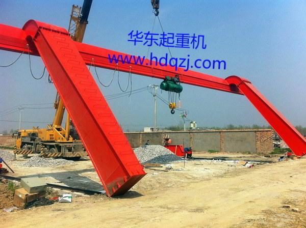 MHL型单主梁电动葫芦龙门吊规格型号